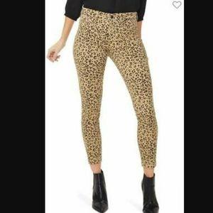NYDJ Ami Sierra Jag Cheetah Print Skinny Jeans
